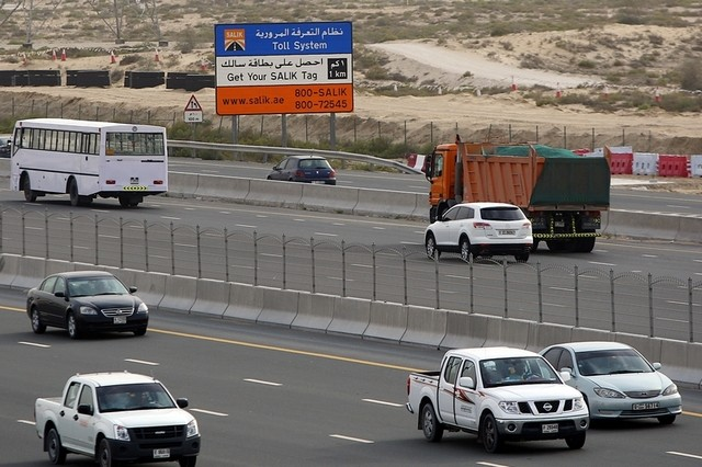 The Road Transport Authority of Dubai found issues with tyres, overloading, and faulty lights and signals when it inspected some 26,000 heavy vehicles in the first six months of 2016. Satish Kumar / file, The National