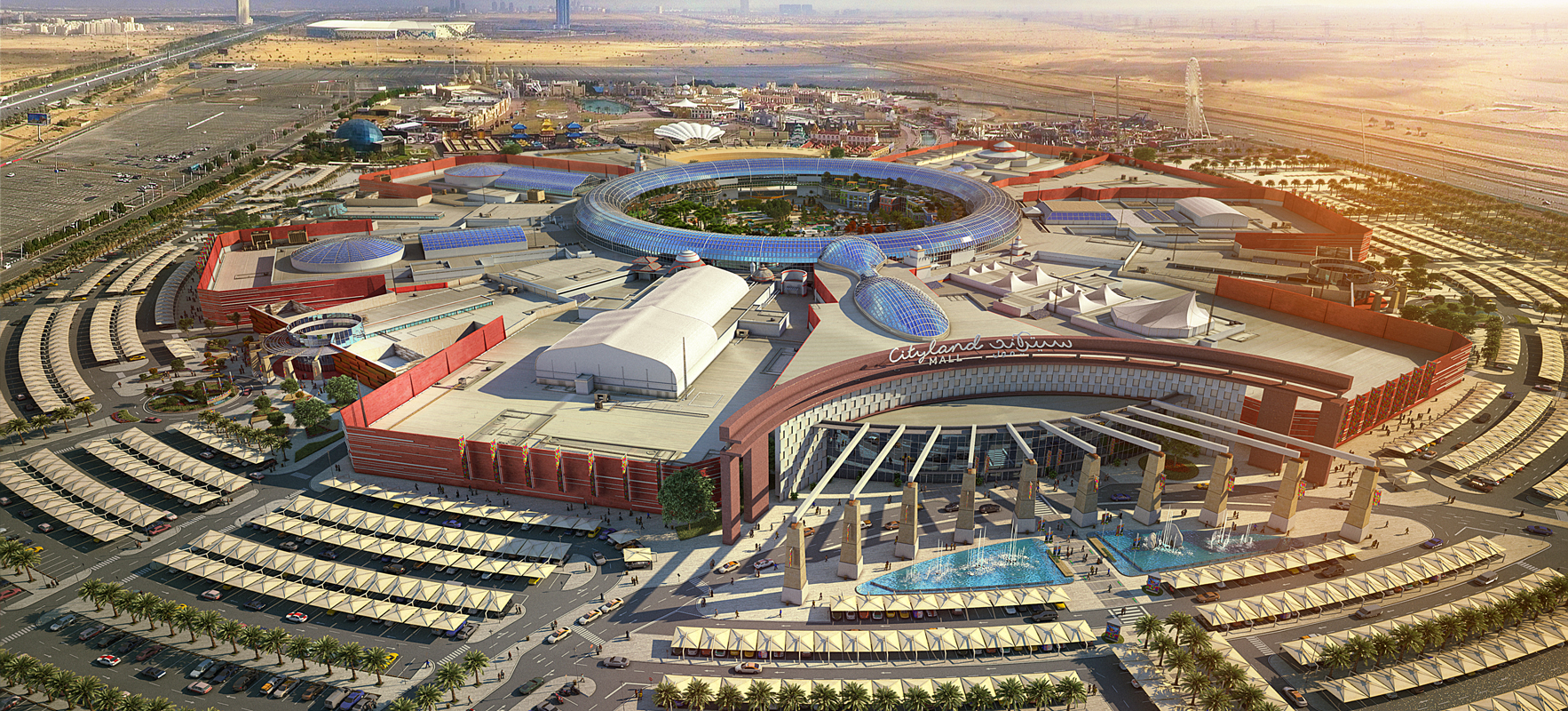 Architecture Plans Cityland Plans Dh1 1bn Mall Near Global Village Around