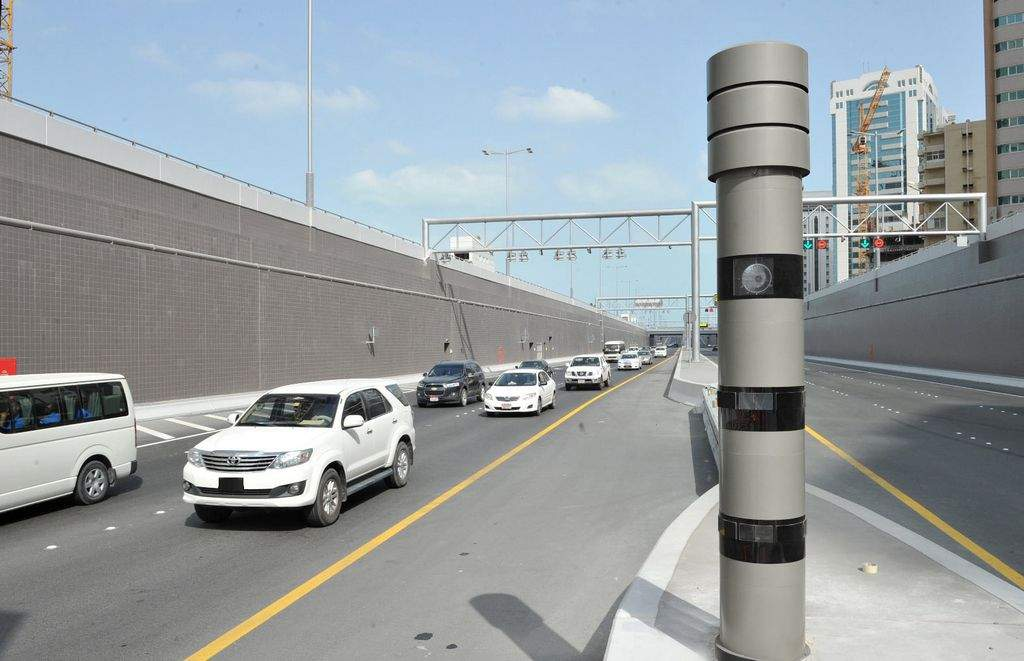 These Uae Roads Will Have Speed Cameras On Friday