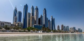 Lowest temperature in UAE today is 34 degrees