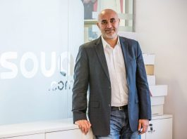 """Mouchawar says Souq and Amazon are """"a great place to be; I would not want to be anywhere else, where you're always too intimidated to think and create""""."""