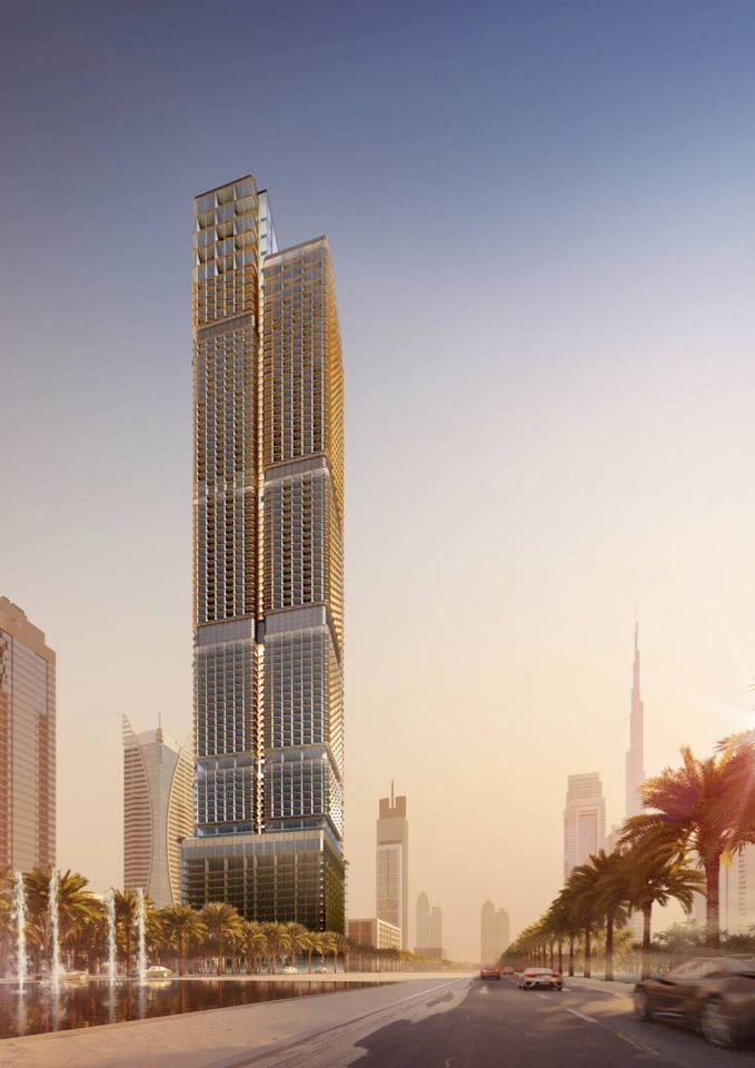New $410m Dubai project to offer 1,000 hotel rooms, homes
