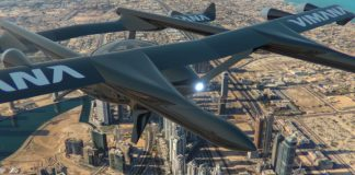 US flying taxi firm conducts trial in Dubai