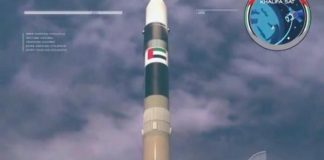 UAE's KhalifaSat successfully launches into space