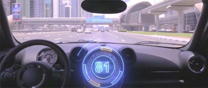 Dubai traffic authority presents self-driving taxi at tech fair