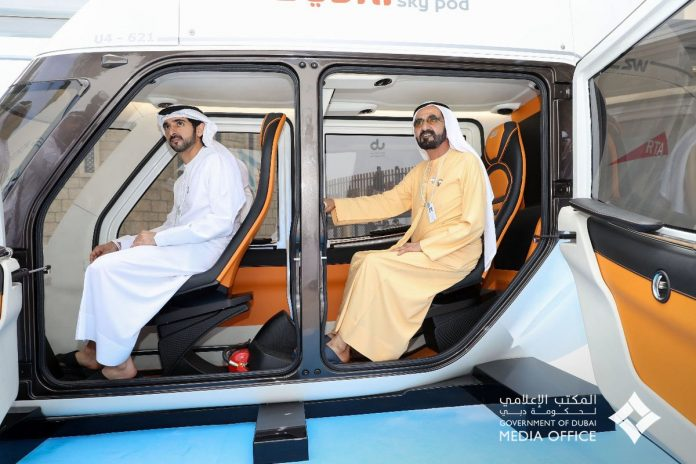 The Sky Pods initiative is part of RTA's efforts to provide autonomous transport, one of the key aims of the Dubai Autonomous Transportation Strategy aimed at converting 25% of total journeys in Dubai into autonomous journeys on various transit means by 2030.