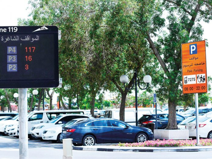 RTA expands smart parking system, to help save time for motorists searching for parking