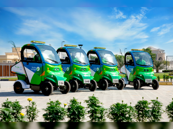 Bee'ah's new electric mobile waste collection units deployed in Sharjah's residential areas