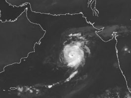 Tropical cyclone Maha intensifies over Arabian Sea