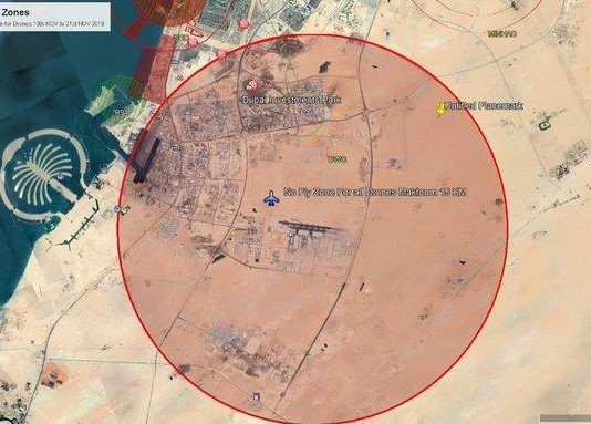 Drone exclusion zone plan revealed to protect Dubai Airshow
