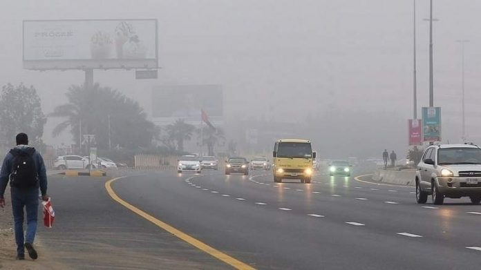 Fog covers parts of UAE, poor visibility warning issued