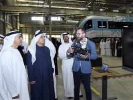 Dubai reveals plan to trial drones to inspect metro tunnels