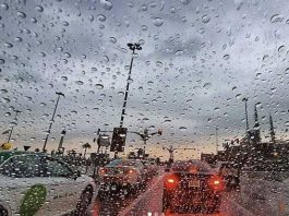 Light to moderate rain was experienced in various parts of the emirate on Saturday morning.